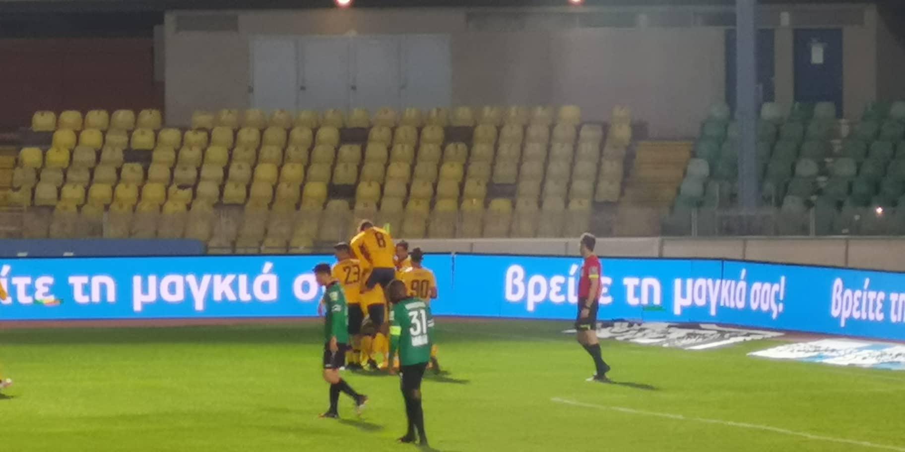 (ΚΑΙ IVE I) AEL 3-0 Olympiacos Kerkida.net
