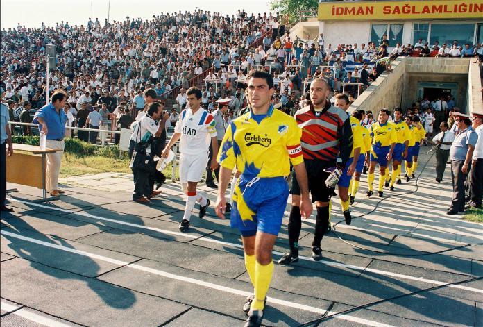 AΠΟΕΛ/πριν 24 χρόνια στο Αζερμπαϊτζάν!!!
