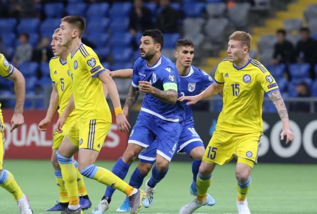 (LIVE) Καζακστάν - Κύπρος 1-2 (Φώτος)